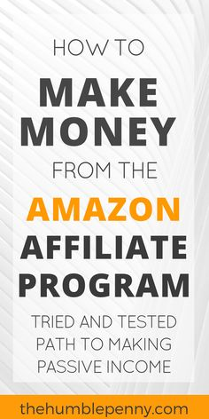 Are you thinking about becoming a seller for an affiliate marketing program? You will be successful if you choose a good affiliate marketing program. Keep reading to learn how you can find an excellent affiliate marketing program. Make Money Blogging, Make Money From Home, Way To Make Money, Make Money On Amazon, Money Fast, Money Tips, Mo Money, Blogging Ideas, Sell On Amazon