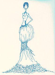 fashion illustration   Christen Noelle