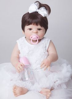 55cm New Full Body Silicone Reborn Baby Doll Toys Newborn Girl Baby Doll Christmas Gift Birthday Gift Bathe Toy Girls Brinquedos (32759186979)  SEE MORE  #SuperDeals