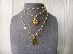 #jewelry #rosary #gold