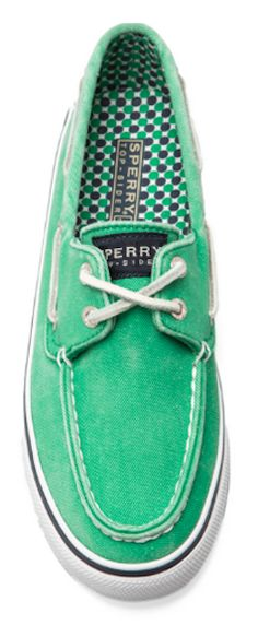 #green #Sperry topsider shoes  http://rstyle.me/n/f4pikpdpe