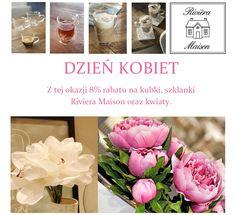 W Sweet Living znajdziesz prezenty na DZIEŃ KOBIET ze specjalnym 8% rabatem. Zapraszamy na zakupy, obniżyliśmy ceny filiżanek i kubeczków Riviera Maison oraz kwiatów. Kupuj on-line: http://sweetliving.pl/dzien_kobiet-k90-str1.html #dzieńkobiet #prezentdlaniej #prezentydlapań #prezentyWarszawa #sweetliving #WarszawaWilanów #RivieraMaison