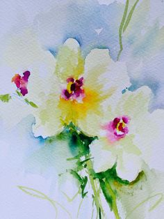 Watercolor Wanderings by Christy Lemp: Need Flowers