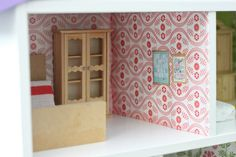 DIY DOLLHOUSE – My Craigslist Before & After – At Home With Natalie