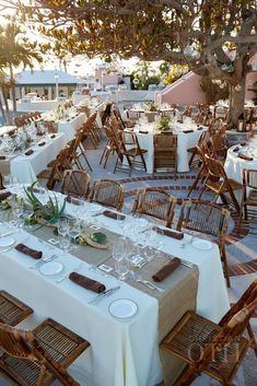 Perfect for an outdoor rehearsal dinner or a wedding reception under the stars, this is our favorite destination wedding location for our brides and grooms! #outdoorweddingreception