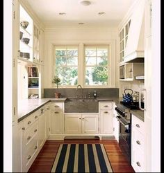 Galley Kitchen Remodel Kitchens Remodeling Small White U Shaped Designs Ideas House Plans Re