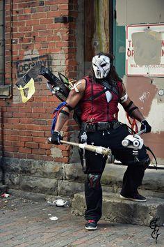 Casey Jones, Michael Love, Love Bugs, Teenage Mutant Ninja Turtles, Tmnt, Deadpool, Cos Play, Play Ideas, Costumes