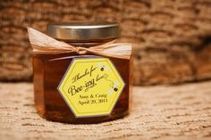 Honey Wedding Favor