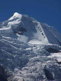 via www.mountainadventures.com  Illimani, Bolivia.