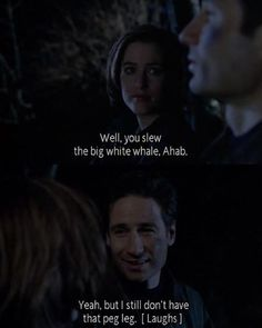 """Well, you slew the big white whale, Ahab"" 