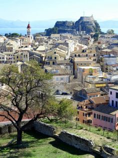 Corfu as Seen from the Old Fort ~ Corfu, Greece