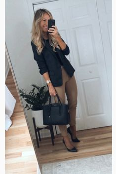 Dressy Casual Outfits, Stylish Work Outfits, Office Outfits, Work Casual, Stylish Outfits, Fall Outfits, Casual Wear, Business Casual Attire, Professional Outfits