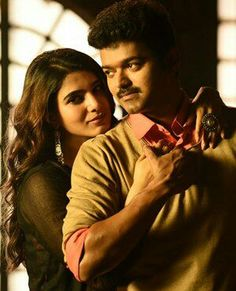 Thalapathy Vijay's Mersal is now offically the highest grossing Tamil film! - Mersal box office update:Thalapathy Vijay's film becomes the highest grossing Tamil film, crosses the Rs 150 crore mark Romantic Love Images, Love Couple Images, Actor Picture, Actor Photo, Cute Celebrity Couples, Celebrity Photos, Samantha Images, Samantha Ruth, Romantic Novels To Read