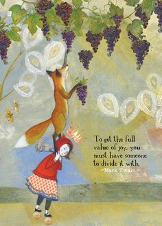 Card 462 Full Joy - SACREDBEE is the creation of the award winning childrens book author and illustrator Pamela Zagaren - Great Quotes, Me Quotes, Inspirational Quotes, Wisdom Quotes, Illustrator, Felt Hearts, Quotable Quotes, Beautiful Words, Oeuvre D'art