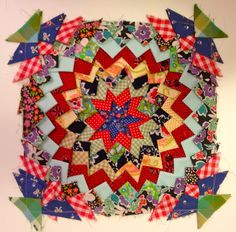 nifty quilts: Doin' the Pine Burr Tutorial for making this block