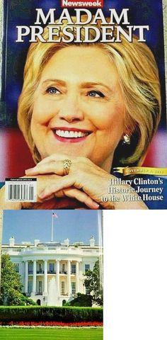 Hillary Clinton: Newsweek Magazine Hillary Clinton Madam President Recalled Commemorative Edition -> BUY IT NOW ONLY: $999.9 on eBay!