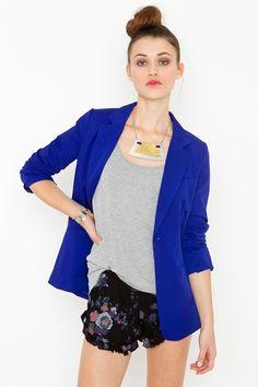 dying for a cobalt blue blazer