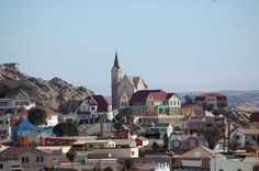 luderitz namibia - Google Search Namib Desert, Places Of Interest, Paris Skyline, Cathedral, Places To Go, National Parks, Wildlife, Africa, Island