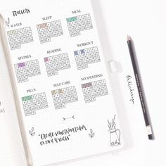 Monthly Tracker Stickers Printable / Minimal Bullet Journal Stickers / Habit, Mood, Sleep / Black and White Stickers / Mini trackers