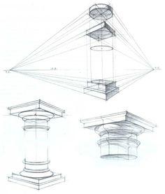 # Architecture # sketches # Architecture # c . Architecture Drawing Sketchbooks, Architecture Concept Drawings, Perspective Drawing Lessons, Perspective Art, Interior Design Sketches, Industrial Design Sketch, Structural Drawing, Technical Drawing, Architecture Antique