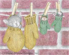 """Monica and Mudpie"" from House-Mouse Designs�"