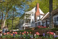 Such a beautiful time of the year at Michie Tavern and on Monticello Mountain.