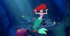 the little mermaid little mermaid gif