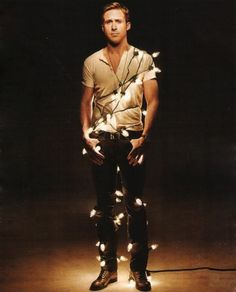 Lots of ladies wouldn't mind at all if Ryan Gosling was underneath their Christmas tree this year!