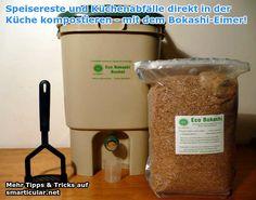 Kompostieren direkt in der Küche – mit dem Bokashi-Eimer!