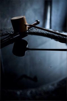 Chozubachi 手水鉢 - a vessel originally designed to keep water for rinsing one's mouth and cleansing one's body before entering the sacred precincts of a Shinto shrine or a Buddhist temple in Japan.