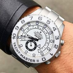 Rolex Yacht-Master II Bamford Snow Edition Price Upon Request ~~~~~~~~~~~~~~~~~ ~~~~~~~~~~~~~~~~~ Photo Credit:… Best Watches For Men, Fine Watches, Luxury Watches For Men, Cool Watches, Unique Watches, Popular Watches, Dream Watches, Sport Watches, Rolex Explorer