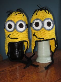 Minion Hats - Despicable Me 2 releases July 3, 2013