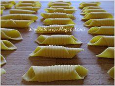 Garganelli, pasta homemade