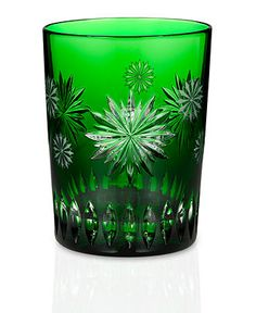 Waterford Drinkware, 2012 Snowflake Wishes for Courage Double Old Fashioned Glass Prestige Edition - Stemware & Cocktail - Dining & Entertaining - Macy's