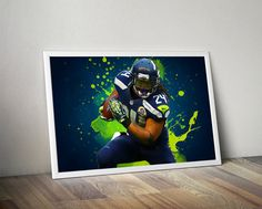 Hey, I found this really awesome Etsy listing at https://www.etsy.com/listing/455599952/marshawn-lynch-seattle-seahawks-poster