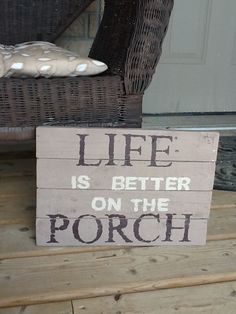 Small primitive sign for the front porch..