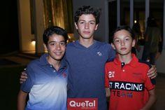 Reu en casa de Mau Martín Alba - Gerardo, Marcelo y Mau.
