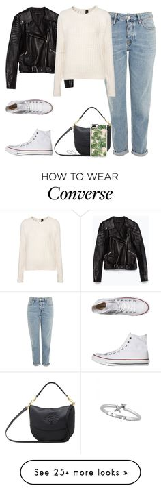 """Untitled #490"" by findthefinerthings on Polyvore featuring Converse, Topshop, Zara, Boutique, Mulberry and Casetify"