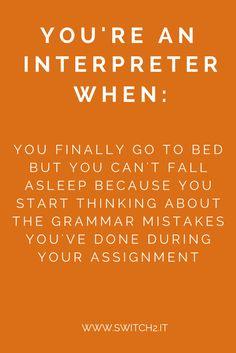conference interpreter humor