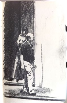 Moleskine #051 graphite pencil drawing