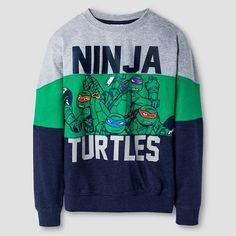 Boys' Teenage Mutant Ninja Turtles Sweatshirt : Target