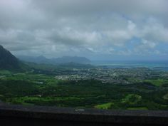above Oahu, stunning