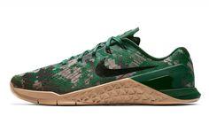 promo code f98e6 81bd3 Nike Metcon 3 - Green Camo  Rogue Fitness Metcon 3, Mens Training Shoes,
