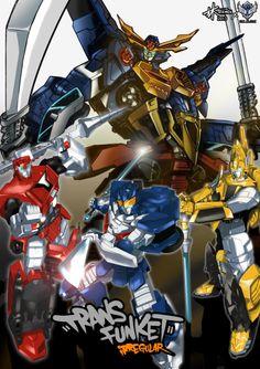 (Japan) TFK Irregular illustration - Transformers GO featuring Tekman Lam from Guangzhou (2013)