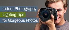 Indoor Photography Lighting Tips Banner
