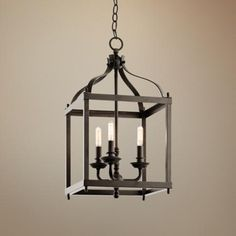 "Kichler Larkin 8"" Wide Olde Bronze Pendant -  love this for kitchen island but if too big, foyer?"