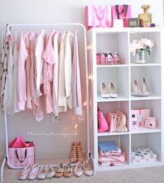 Imagem de pink, closet, and clothes