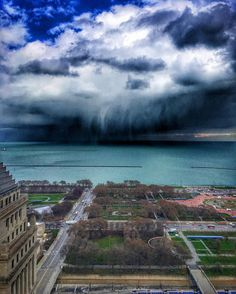 """Looks exactly from a movie scene! #chicago #chicagoweather #ilovechicago #mychicagopix #likechicago #artofchi #jj_chicagoland #wu_chicago #insta_chicago #windycity #rainyday #iloveusa #lakemichigan #rainstorm #igchicago #igerschicago #dramaticclouds #snapseedapp #trib2016 #iphone6sphotography #grantpark by ll_cool_j2 Follow """"DIY iPhone 6/ 6S Cases/ Covers/ Sleeves"""" board on @cutephonecases http://ift.tt/1OCqEuZ to see more ways to add text add #Photography #Photographer #Photo #Photos…"""
