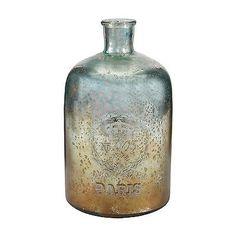 Bottles 36016: Sterling Industries 12 Aqua Antique Mercury Glass Bottle -> BUY IT NOW ONLY: $114.45 on eBay!