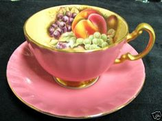Aynsley bone chine teacup & saucer ♥